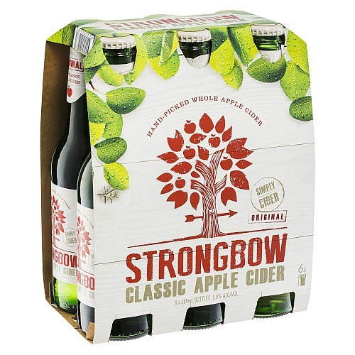 Strongbow Apple Cider 6 Pack