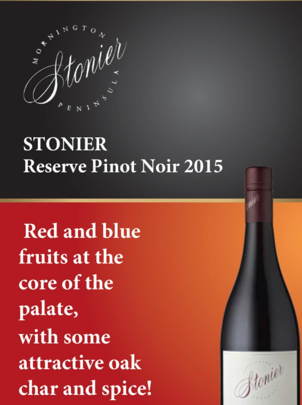 Stonier Reserve Pinot Noir 2015