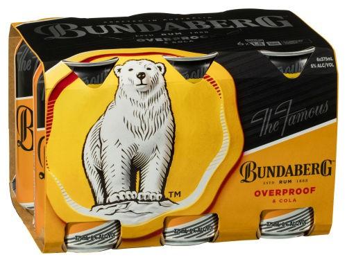 Bundaberg Overproof 6 pack
