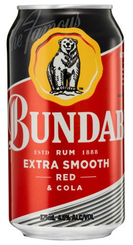 Bundaberg Red and cola