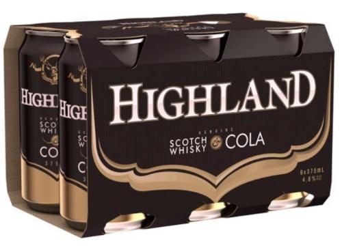 Highland Scotch and Cola