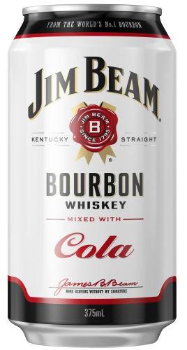 Jim Beam White and Cola