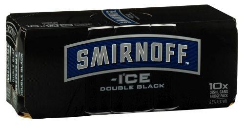 Smirnoff Ice Double Black 10 pack