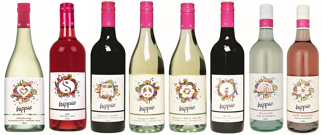 Hippie Wine Range