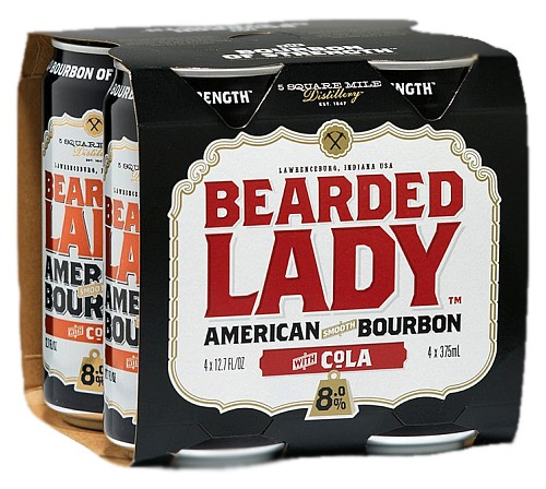 Bearded Lady Bourbon Cola Premix