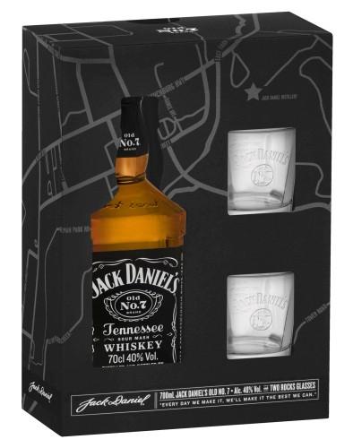 Jack Daniels 2 pack glasses