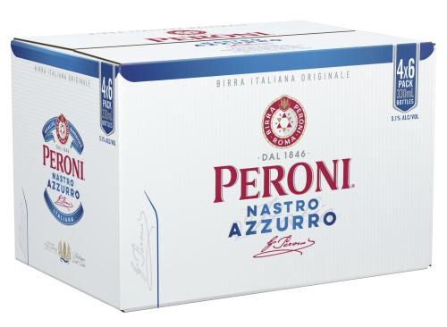 Peroni Nastro Azzurro 24 pack