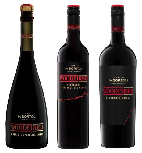De Bortoli Woodfired Range bottles