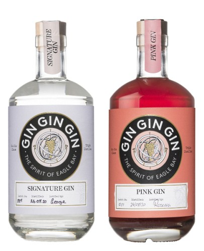 Wise Gin and Wise Pink Gin