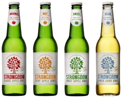 Strongbow Cider Range