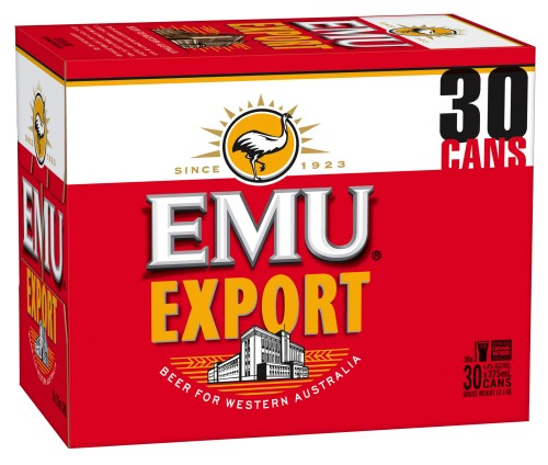 Emu Export 30 cans