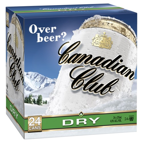 Canadian Club and Dry 24 cans